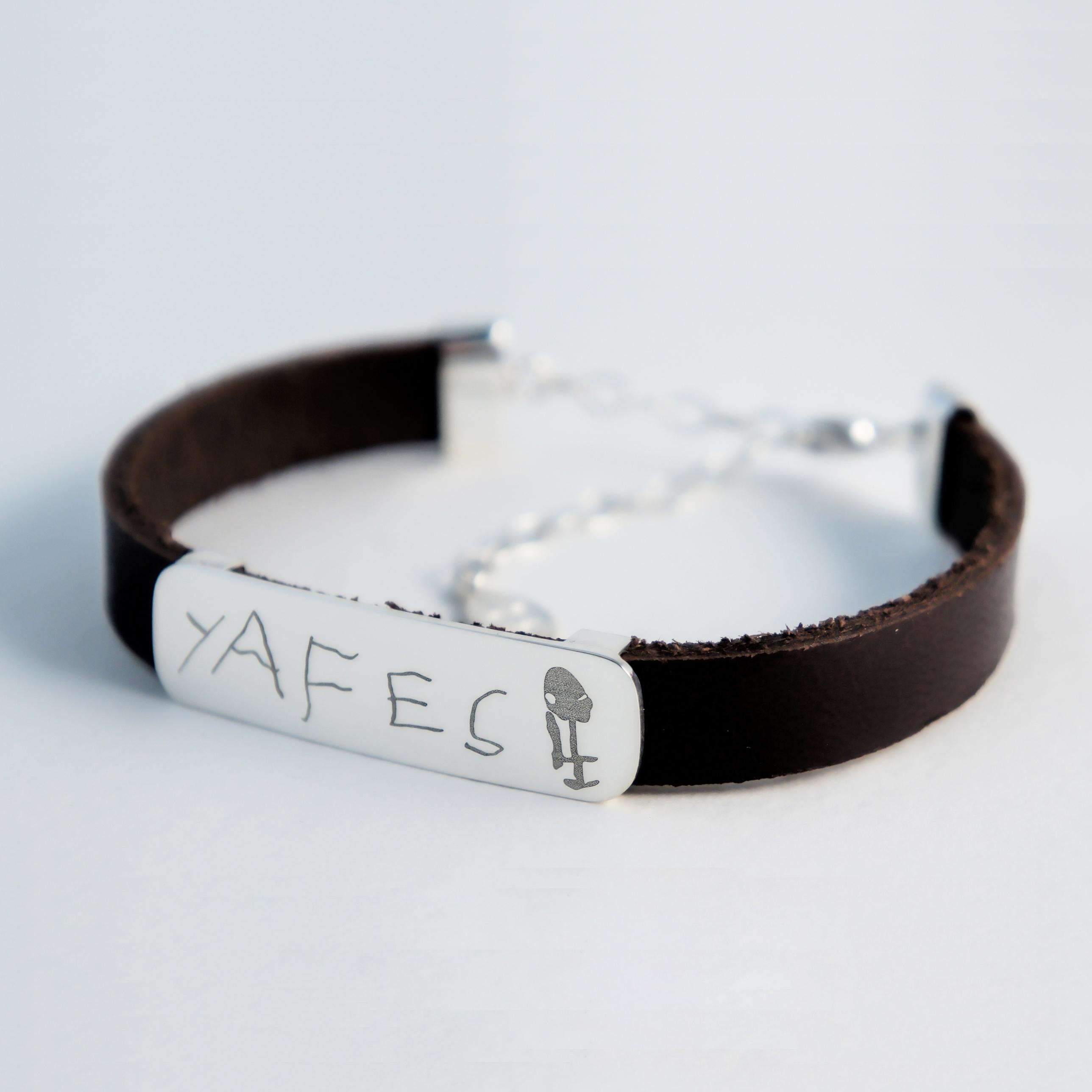 deri bileklik 1.2 / leather bracelet 1.2
